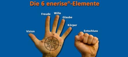 Die sechs enerise Elemente für Spitzenmotivation