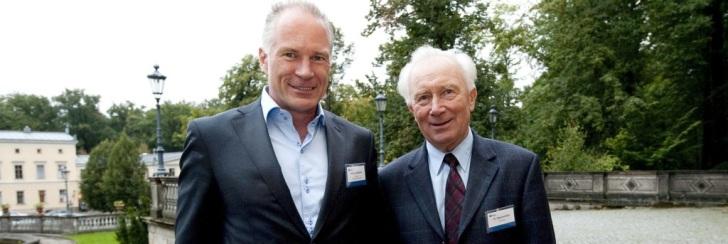 Dr. Siegmund Jähn und Thomas Schlechter in Dresden
