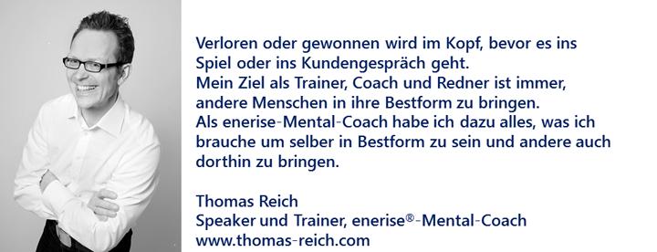 Mentalcoach Reich